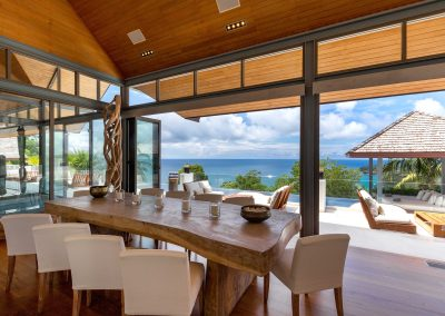 5.Dining Table with Seaview
